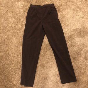 High waist trouser pants